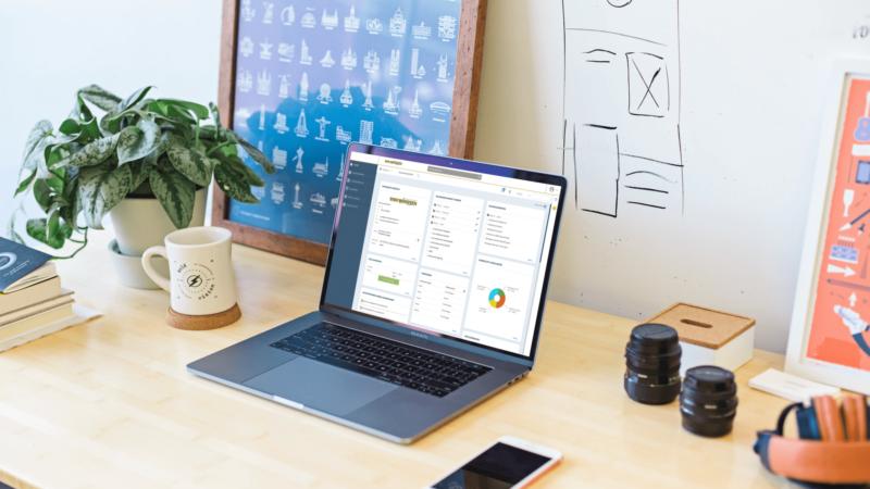 Onze intuïtieve en gebruiksvriendelijke salarissoftware Personeel en Salaris Online