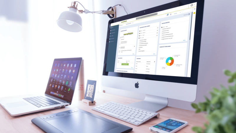 Personeel en Salaris HR Extra: de premium module met gmail-integratie